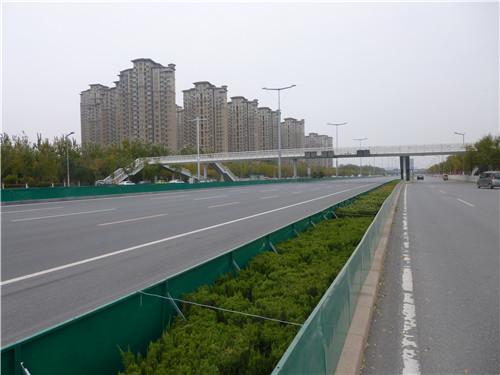 沈阳钢制绿化挡雪板项目