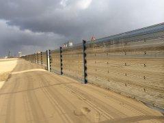 固沙围栏案例
