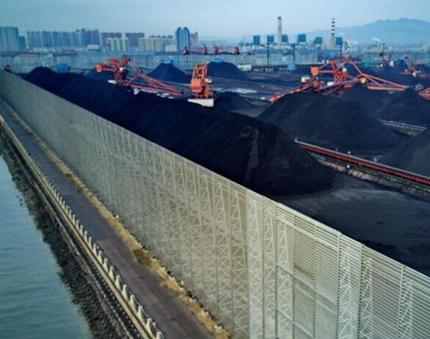 煤堆挡风墙